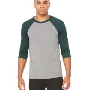Unisex 3/4-Sleeve Baseball T-Shirt Thumbnail