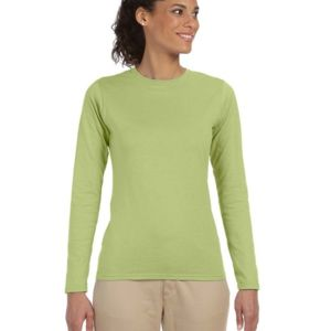 Ladies' Softstyle®  4.5 oz. Long-Sleeve T-Shirt Thumbnail