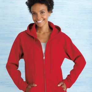 Heavy Blend Women's Full-Zip Hooded Sweatshirt Thumbnail