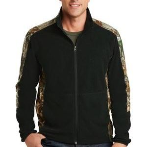 Camouflage Microfleece Full Zip Jacket Thumbnail
