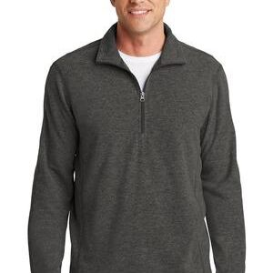 Heather Microfleece 1/2 Zip Pullover Thumbnail