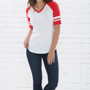 ATC EUROSPUN RING SPUN BASEBALL LADIES' TEE Thumbnail